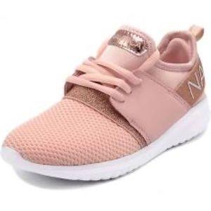 Girls Nautica Rose Gold Shoes Size 4